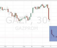 Акции Газпрома в лидерах падения: инвесторов кинули на дивиденды