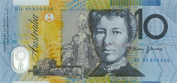 Австралийский доллар (AUD) 10