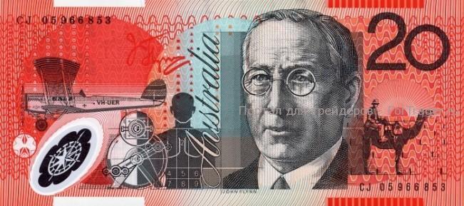 Австралийский доллар (AUD) 20