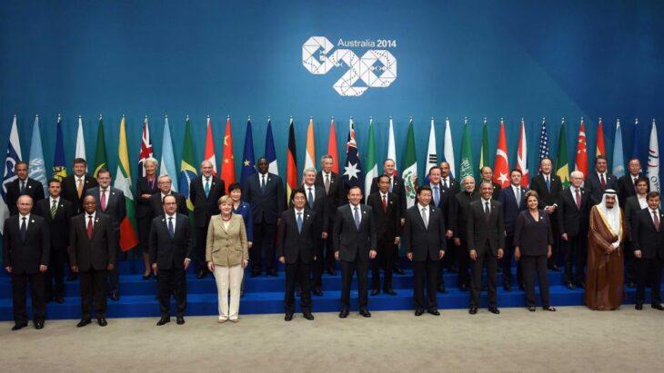 Саммит большой двадцатки или G20
