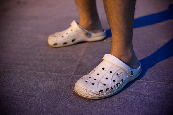 Мужские кроксы