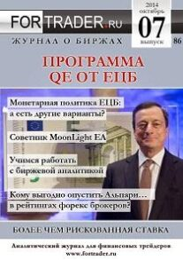 Журнал для трейдеров ForTrader.org №86: Программа QE от ЕЦБ: более чем рискованная ставка