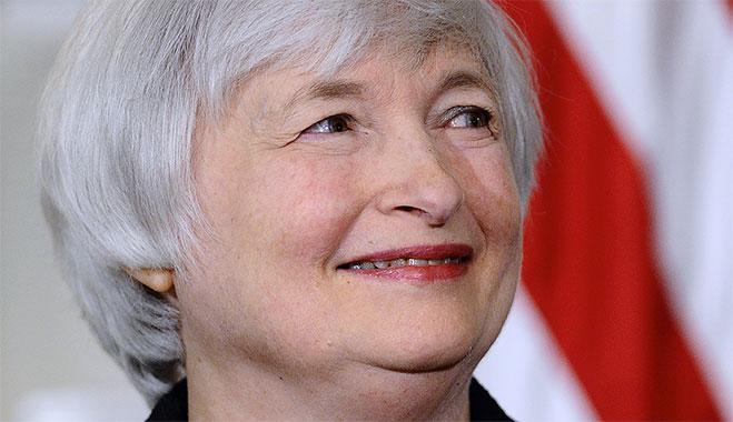Председатель ФРС США Дженнет Йеллен