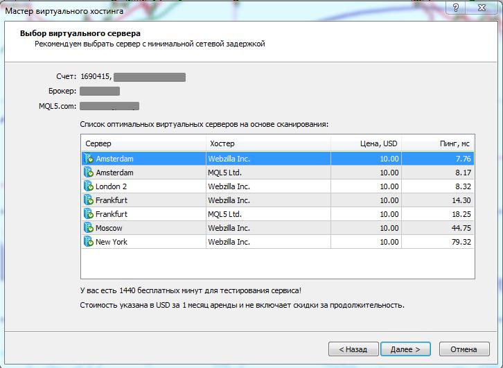 виртуальный хостинг программы