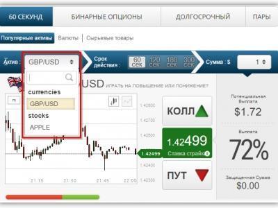 Бинарные опционы депозит-1
