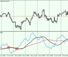 Prosperous – FOREX oscillator to determine the trend and flat