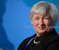 Джанет Йеллен, глава ФРС США