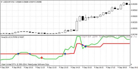Индикатор anina форекс куплю биллинговую панель для форекса