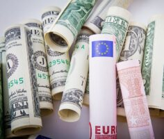 евро к доллару