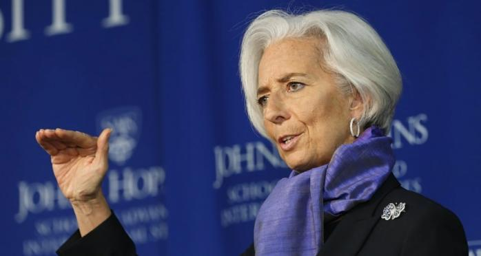 Глава ЕЦБ Кристин Лагард