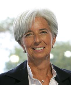 Кристин Лагард, ЕЦБ