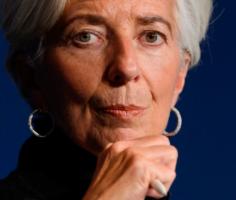 Кристин Лагард, глава ЕЦБ