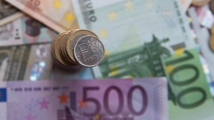 Курс рубля к евро